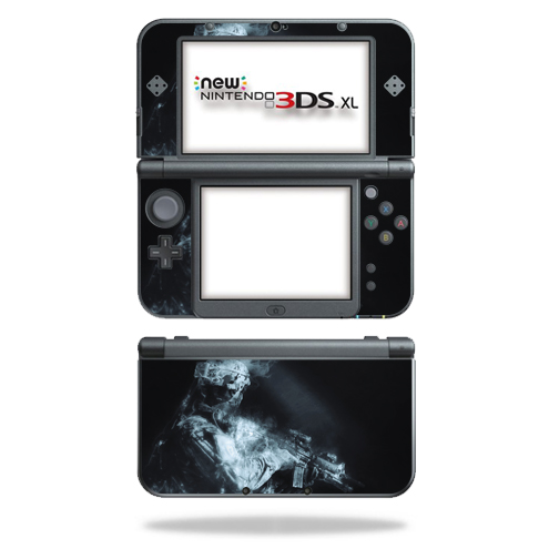 MightySkins Protective Vinyl Skin Decal for New Nintendo 3DS XL (2015) Case wrap cover sticker skins Ghost Of A Soldier