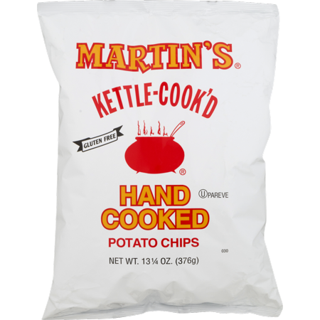 Martin's Kettle-Cook'd Hand Cooked Potato Chips Family Size 13.25 oz. Bag (4 (Family's Best Potato Chips)