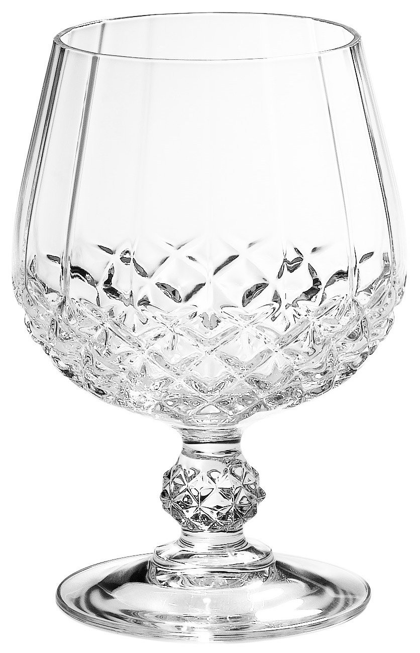 ARC Cristal D'Arques Longchamp Brandy Snifters, Set of 4 by ARC International