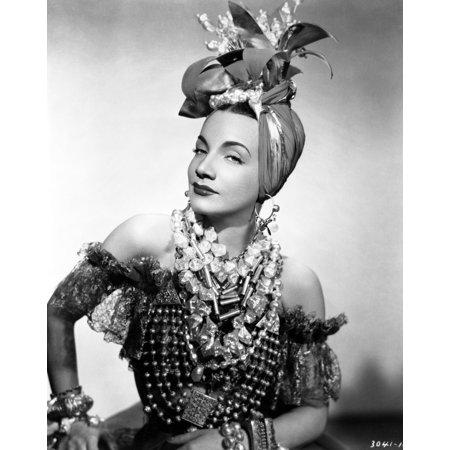 Carmen Miranda Photo Print - Carmen Miranda Costumes