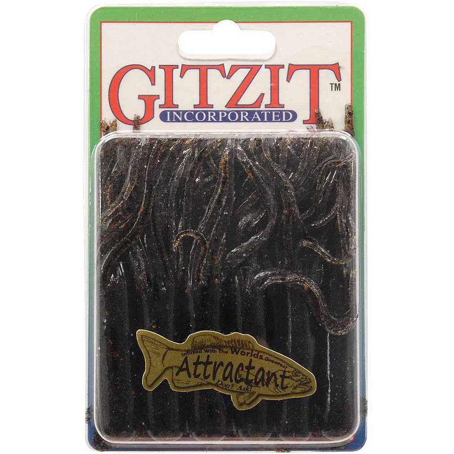 Gitzit Tournament Tube Lure, 10-Pack