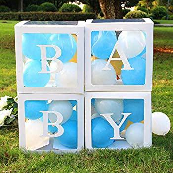 Decoration Balloon Box For Boy Transparent Balloon Box For Baby First Birthday Party Decorations Boy Baby Shower Wedding Birthday Party Decoration Backdrop Home Decor Baby Boy Favors Walmart Com Walmart Com