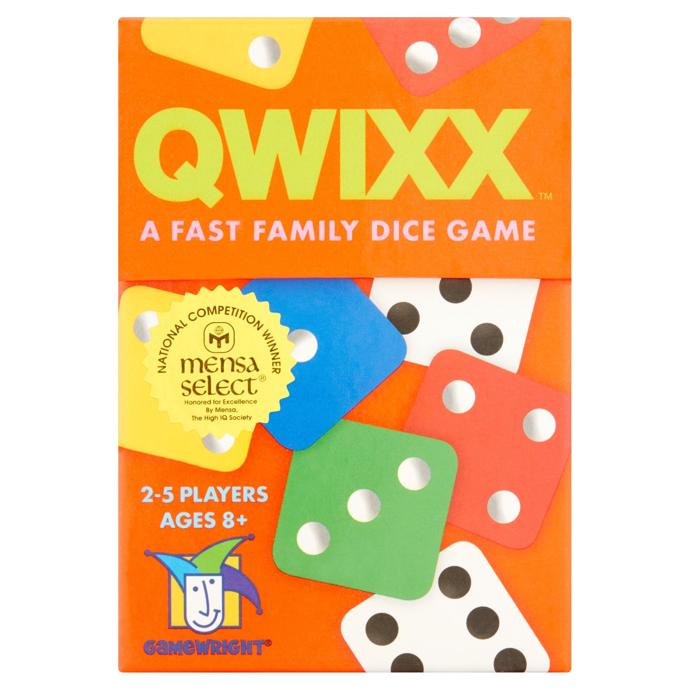 Gamewright Qwixx Dice Game Ages 8+