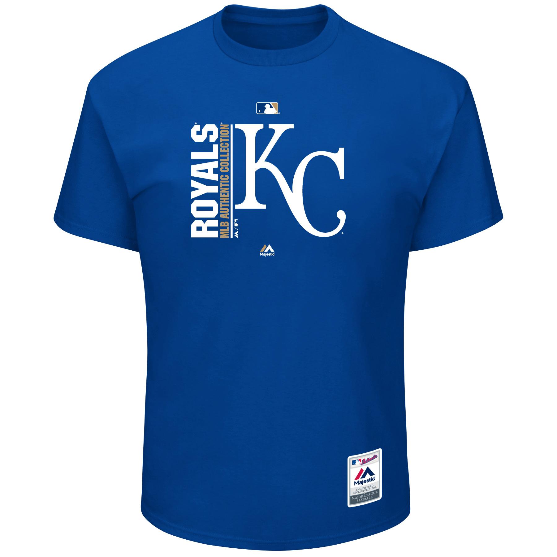 Kansas City Royals Majestic Big & Tall Team Icon T-Shirt - Royal