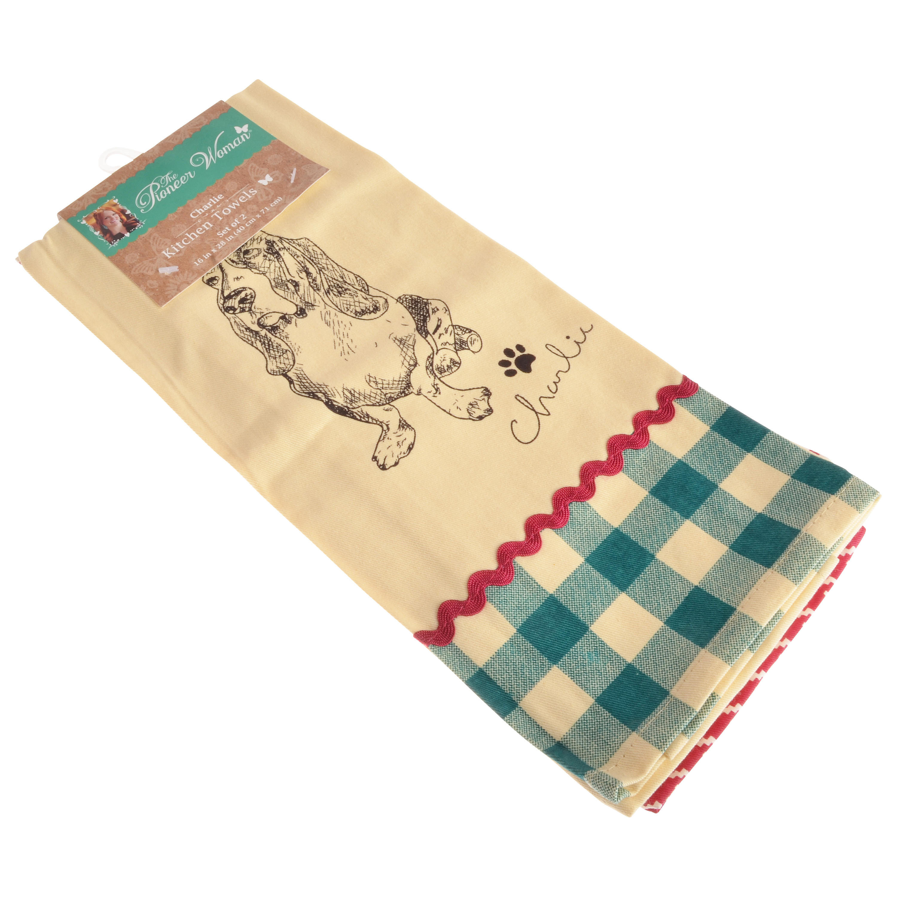 The Pioneer Woman Charlie Kitchen Towel - 2 Pack