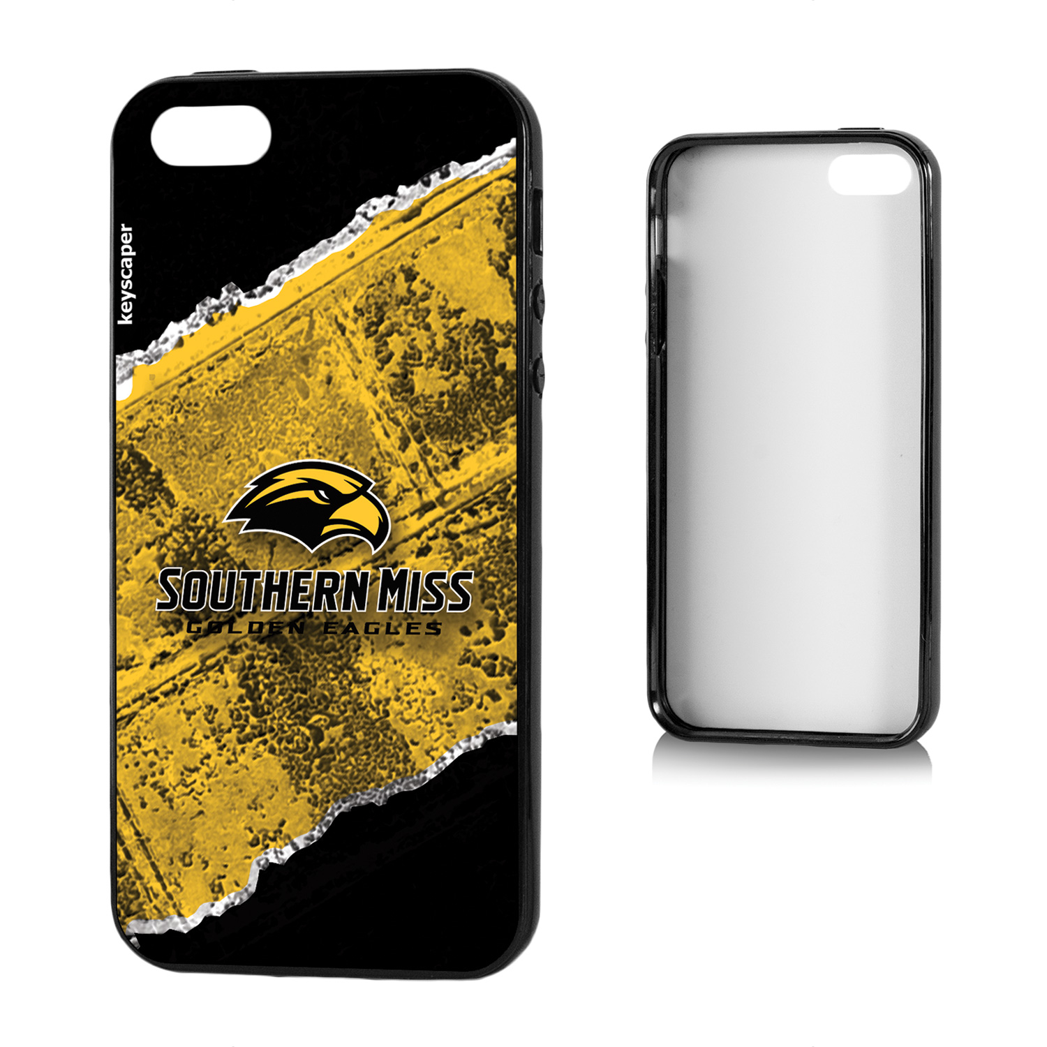 Southern Mississippi Golden Eagles iPhone 5 and iPhone 5s Bumper Case