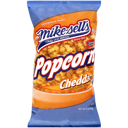 Mike-Sell's Cheese Flavored Popcorn, 6 oz