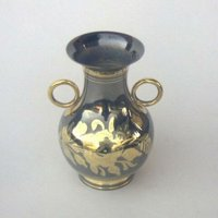 India Overseas Trading BR21462 - Solid Brass Vase