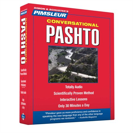 Pimsleur Pashto Conversational Course - Level 1 Lessons 1-16 CD : Learn to Speak and Understand Pashto with Pimsleur Language (Learn Pashto Language)