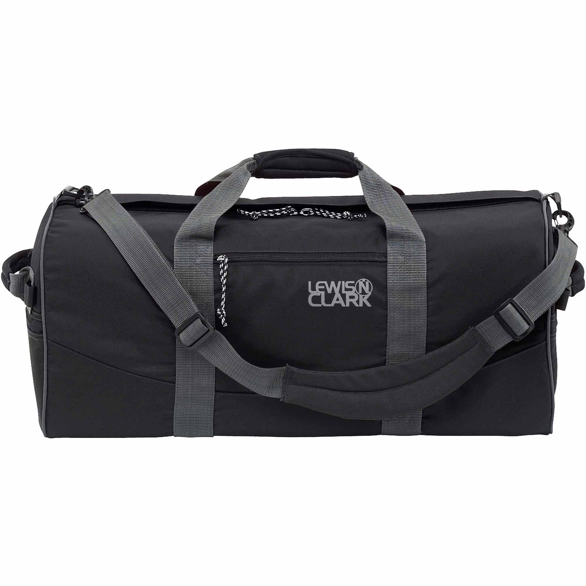 Lewis N. Clark Duffel Bag, Black
