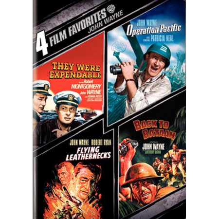 4-Film Favorites John Wayne (DVD)