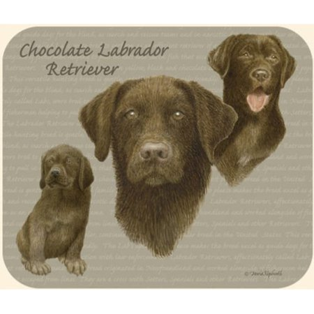 - Chocolate Lab Mouse Pad by Fiddler's Elbow - M91FE