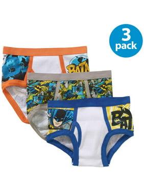 DC Comics Boys Underwear, 3 Pack