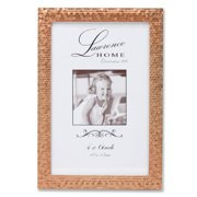 4x6 Rose Gold Shimmer Metal Picture Frame