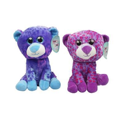 Plush Animals Wholesale (New 212564  Plush 10Big Eyes Leopard 2-As (12-Pack) Animals Cheap Wholesale Discount Bulk Toys Animals Acne)