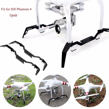2x Extending Landing Gear Skid Undercarriage Holder RC Engines Parts & Accs For DJI Phantom 4 Quadcopter Align T-rex Landing Skid