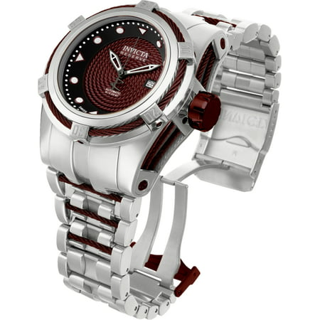 INVICTA BOLT ZEUS AUTOMATIC WATCH - BROWN CASE WITH STEEL, BROWN TONE STAINLESS STEEL BAND - MODEL 12683 ()