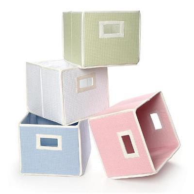 Badger Basket 00844 Folding Basket-Storage Cube Blue Home Organizers Istilo107186 by GSS