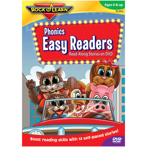 Rock N Learn Phonics Easy Readers On Dvd