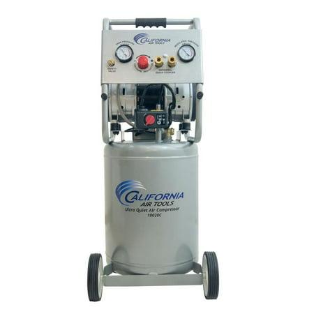 California Air Tools 10020C-22060 Ultra Quiet and Oil-Free 10 Gallon 2.0 HP Powerful Air Compressor