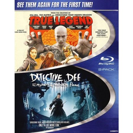 Detective Dee And The Mystery Of The Phantom Flame / True Legend (Blu-ray) (Widescreen)