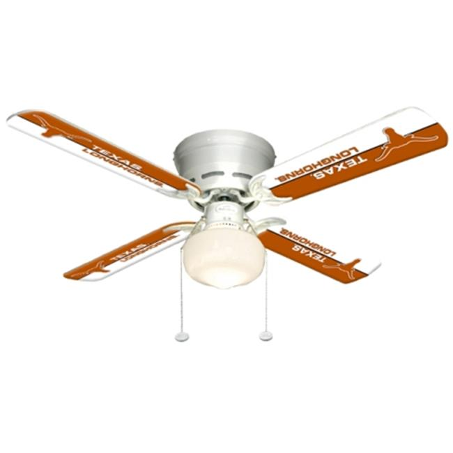 Ceiling Fan Designers 7999-TEX New NCAA TEXAS LONGHORNS 42 in. Ceiling Fan