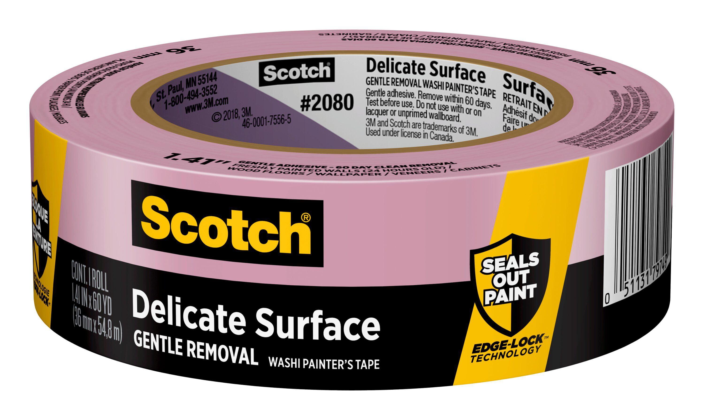 3m scotch roll white masking tape post-it adhesive