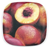 7.5 in. Salad Plates, Peaches - Set of 4