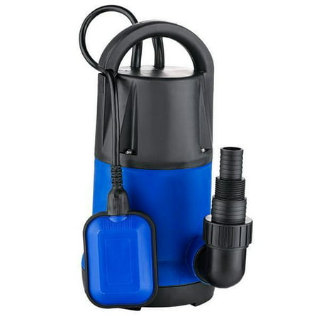 1100W 3400GPH Submersible Water Pump  Clean Dirty Pool Flood Drain US Plug (Blue ) PESTE Spa Drain Pump