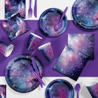 Galaxy Party Birthday Party Supplies Kit