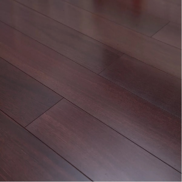 "Dekorman Lucency 47.85"" Length x 4.96"" Wide x 12mm Thick High-Gloss Laminate Flooring in Vintage Eucalyptus"