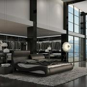 VIG Furniture Modrest Upholstered Platform Bed