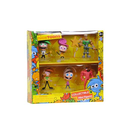 The Fairly OddParents Collectible Mini Figures Deluxe Pack