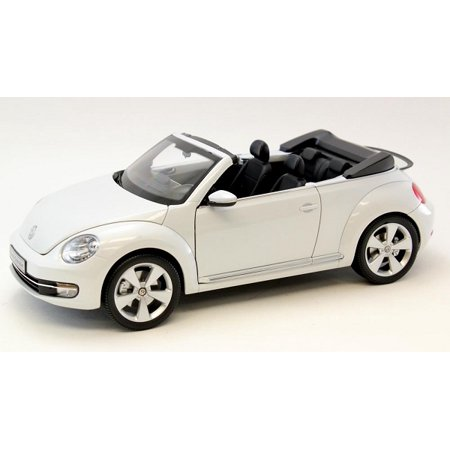volkswagen new beetle convertible oryx white 1 18 diecast. Black Bedroom Furniture Sets. Home Design Ideas