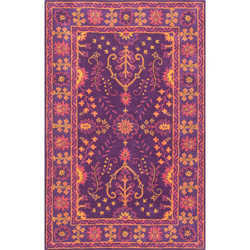 nuLOOM Gita Hand-Tufted Purple Area Rug