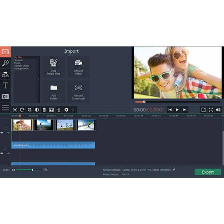 Golden Software Mvem4pe Esd Movavi Video Editor 4 Mac Personal Esd  Digital Code