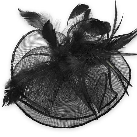Expo Int'l Tyra Fascinator Mini Top Hat (Top Hat Fascinators)