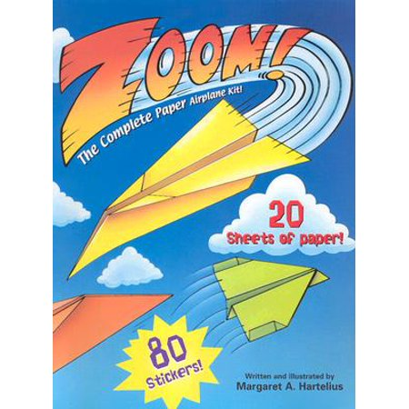zoom the complete paper airplane kit walmart com