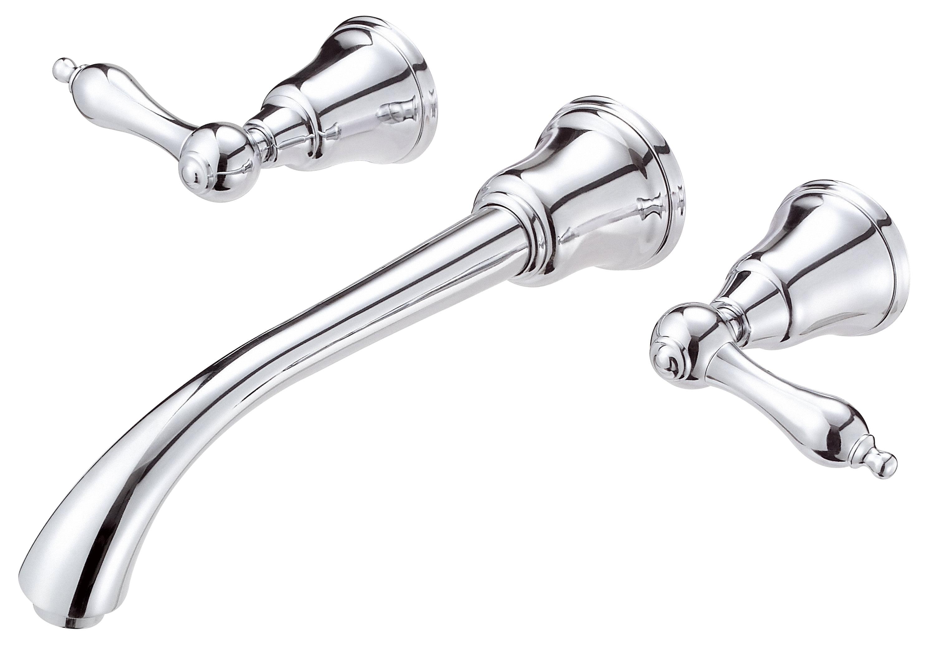 Danze D316240t Fairmont Two Handle Wall Mount Lavatory Faucet Trim