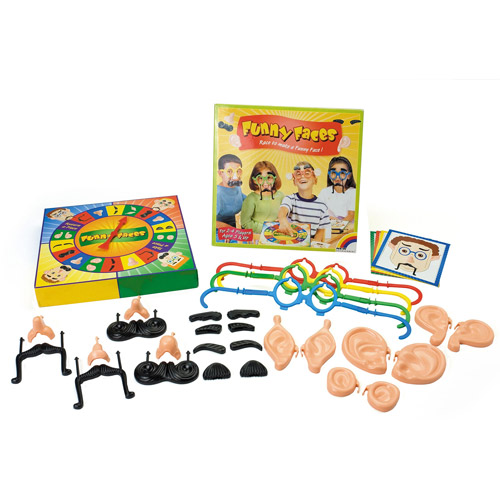 Funny Faces Board Game
