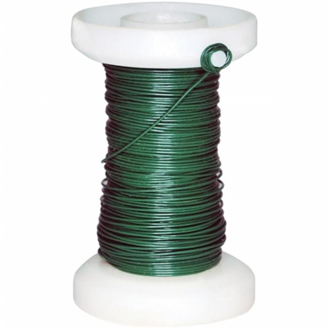 Green Floral Spool Wire 26g 65 ft.-Pkg- - image 1 de 1
