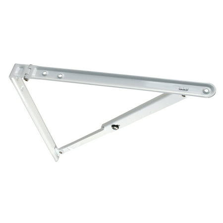 Jr Products 20725 Folding Shelf Bracket   White  12   X 12   X 16 50