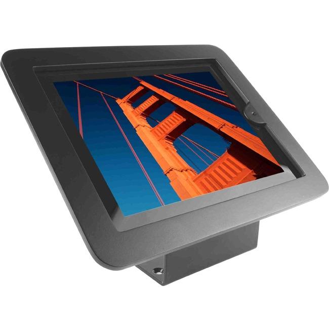 iPad 2/3/4/Air/Air2 Secure Executive Enclosure with 45° Kiosk Black - Black