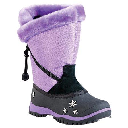 Baffin Switzerland Girls Snowmobile Boots Mauve