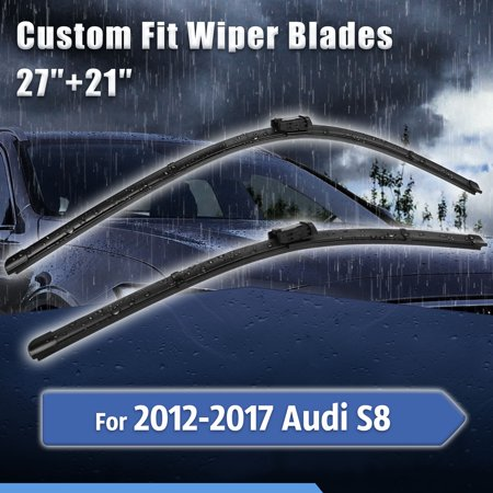 Custom Fit Front Windshield Wiper Blades for 2017 Audi