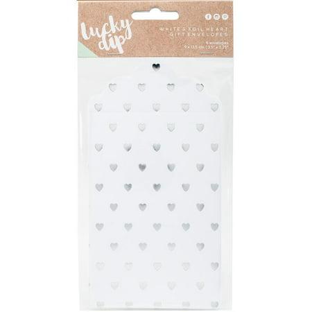 Lucky Dip Envelope Gift Bags 6/pkg-3.5
