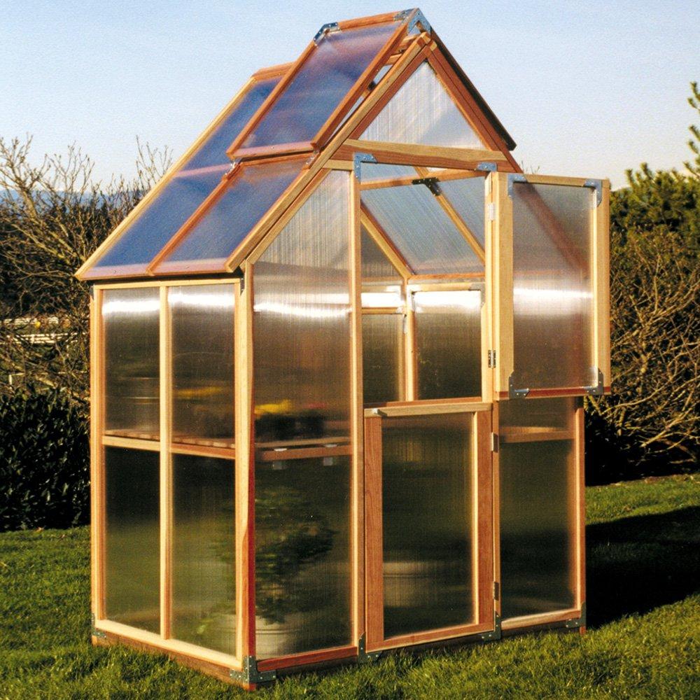 Sunshine Mt. Hood 6 x 4 Foot Greenhouse