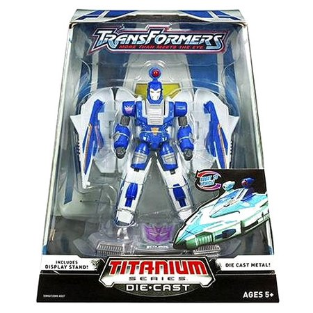 Titanium Series Transformers 6 Inch Metal Cybertron Heroes Scorge