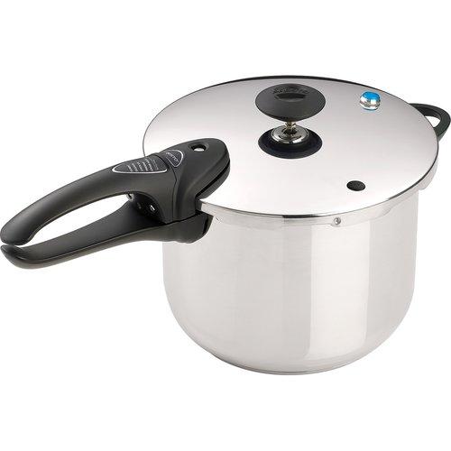 Presto 6-Quart Stainless Steel Pressure Cooker 01365