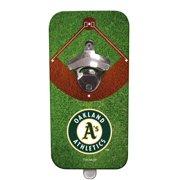 Team Sports America Oakland A's Clink N Drink Magnetic Bottle Opener by Evergreen Enterprises, Inc.
